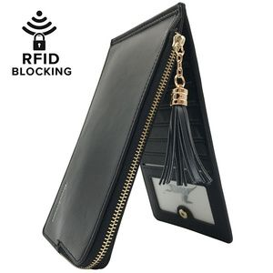 Handbags - Women's RFID Blocking Bifold Multi Card Organizer